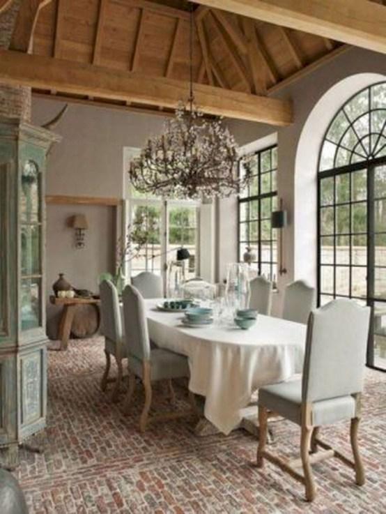 Incredible european farmhouse living room design ideas 62