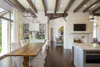 Incredible european farmhouse living room design ideas 80