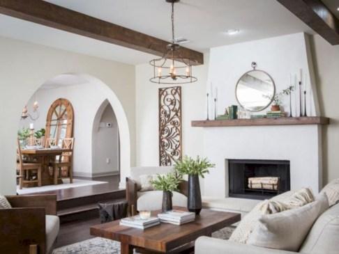 Incredible european farmhouse living room design ideas 93