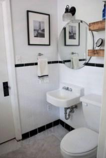 Incredible half bathroom decor ideas 106