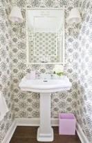 Incredible half bathroom decor ideas 107