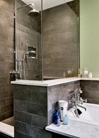 Incredible half bathroom decor ideas 112