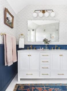 Incredible half bathroom decor ideas 13