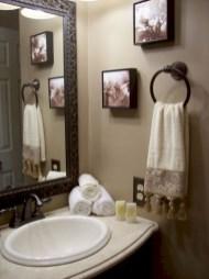 Incredible half bathroom decor ideas 29