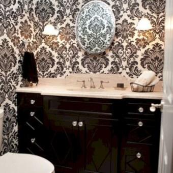Incredible half bathroom decor ideas 32