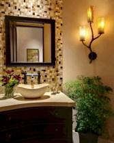 Incredible half bathroom decor ideas 42