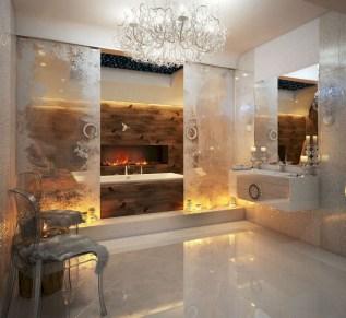 Incredible half bathroom decor ideas 54