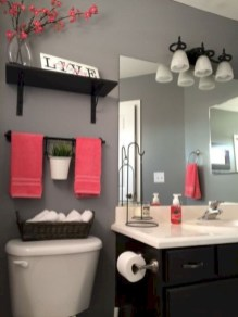 Incredible half bathroom decor ideas 57