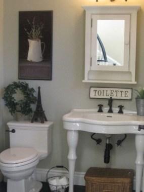 Incredible half bathroom decor ideas 77