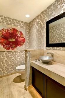 Incredible half bathroom decor ideas 90