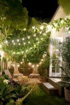 Inspiring backyard lighting ideas for summer 32