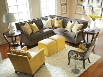 Inspiring living room layouts ideas with sectional 03