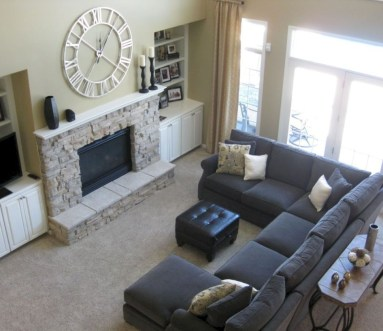 Inspiring living room layouts ideas with sectional 06