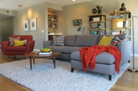 Inspiring living room layouts ideas with sectional 26