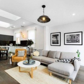 Inspiring living room layouts ideas with sectional 35