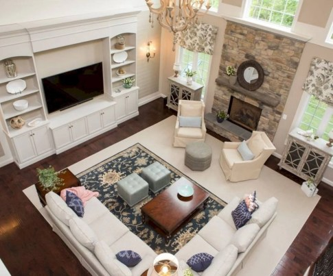 Inspiring living room layouts ideas with sectional 38