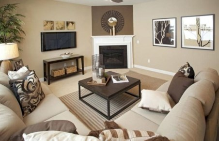 Inspiring living room layouts ideas with sectional 47