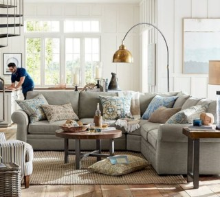 Inspiring living room layouts ideas with sectional 98