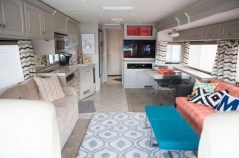 Rv living decor to make road trip so awesome 39
