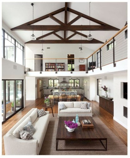 Rustic farmhouse living room decor ideas 04