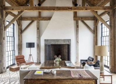 Rustic farmhouse living room decor ideas 06