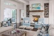 Rustic farmhouse living room decor ideas 33