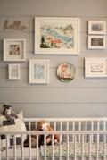 Unique baby boy nursery room with animal design 03