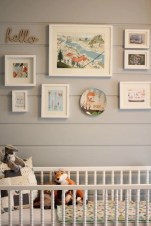 Unique baby boy nursery room with animal design 03