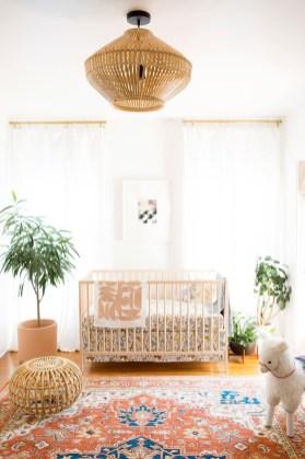 Unique baby boy nursery room with animal design 06