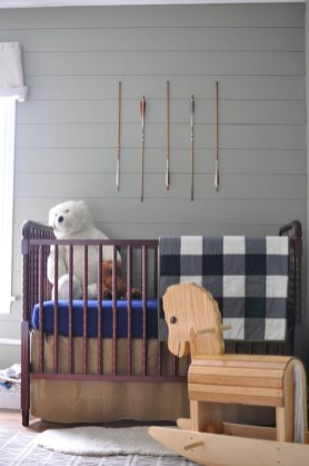 Unique baby boy nursery room with animal design 08