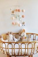 Unique baby boy nursery room with animal design 14