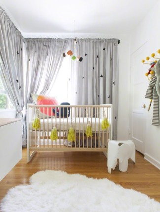 Unique baby boy nursery room with animal design 16