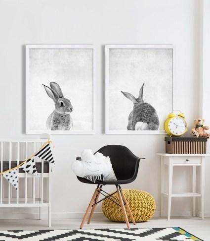 Unique baby boy nursery room with animal design 18