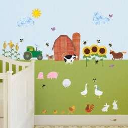 Unique baby boy nursery room with animal design 27