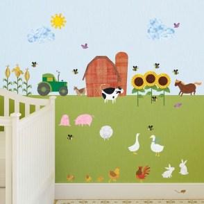 Unique baby boy nursery room with animal design 27