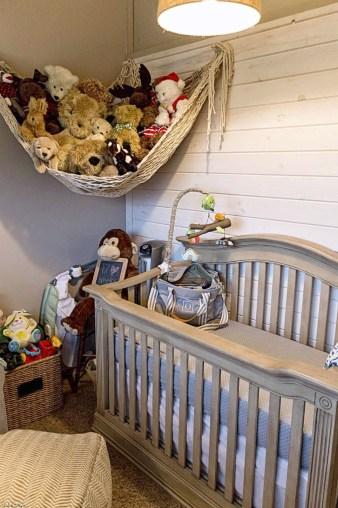 Unique baby boy nursery room with animal design 28