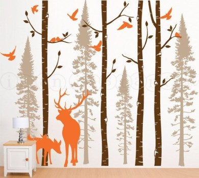 Unique baby boy nursery room with animal design 59
