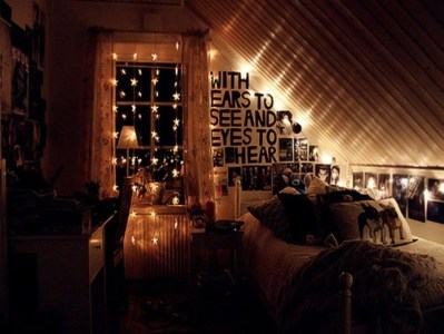 Easy and awesome wall light ideas for teens 02