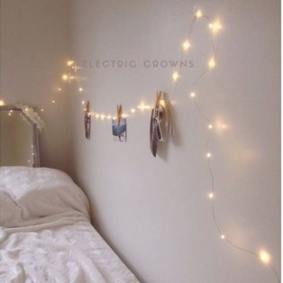 Easy and awesome wall light ideas for teens 07