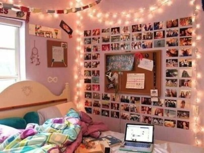 Easy and awesome wall light ideas for teens 21