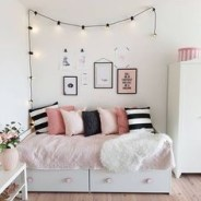 Easy and awesome wall light ideas for teens 29