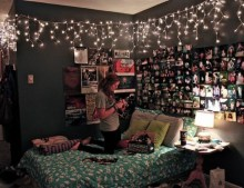 Easy and awesome wall light ideas for teens 31