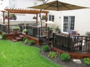 Easy and cheap backyard ideas you can make them for summer 25