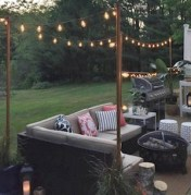 Easy and cheap backyard ideas you can make them for summer 44