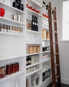 Kitchen pantry ideas with form and function 06