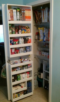 Kitchen pantry ideas with form and function 14