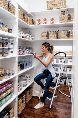 Kitchen pantry ideas with form and function 15