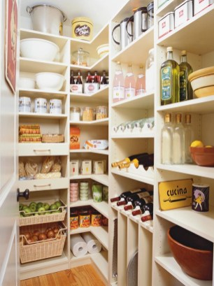 Kitchen pantry ideas with form and function 16