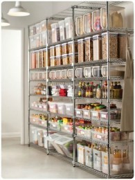 Kitchen pantry ideas with form and function 19