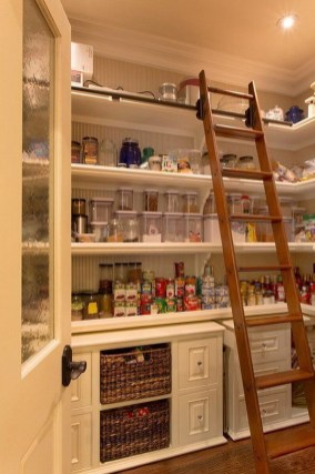 Kitchen pantry ideas with form and function 24